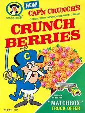 Capn Crunch Berries Cereal Vintage High Quality Metal Magnet 3 x 4 inches 9447