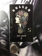 Sullen Pin Up Punk Street Bike Gothic Americana Tattoo Art Sticker ROSES