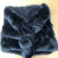 Sweaty Betty Luxe Faux Fur Snood Neck Warmer Lovely Condition