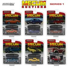 GREENLIGHT 37110 MECUM AUCTIONS COLLECTOR SERIES 1 SET OF 6 DIECAST CARS 1:64