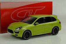 Porsche Cayenne GTS 2013 hellgrün metallic 1:18 GT Spirit
