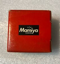 MAMIYA  MACRO CS 50mm NEW AUTO EXTENSION TUBE in ORIGINAL FACTORY BOX