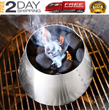 Kettle Grill Accessories Stainless Steel Whirlpool Charcoal