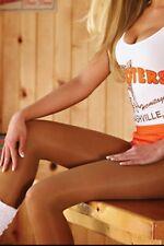 TAMARA Hooters WingHouse NFL Men Women PANTYHOSE 40 Denier Sizes B C S Q 2XL
