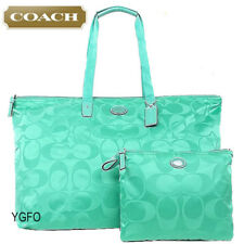 COACH TOTE Weekender XL PACKABLE Overnight Nylon TRAVEL Duffel Getaway BAG 77316