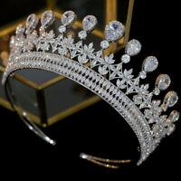 Prinzessin Meghan Braut Diadem Kristall Zirkon Tiara Krone Kopfschmuck Crown