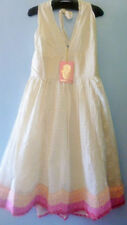 Halter Neck Party Textured Regular Size Dresses for Women