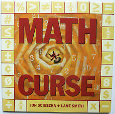 Math Curse by Jon Scieszka and Lane Smith (1995, Hardcover) math lessons