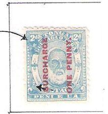Tonga: Scott N° 25. Mint, not gum, variety. TG038