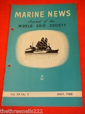 MARINE NEWS - MAY 1966 VOL XX # 5
