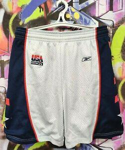 United States National Basketball Team USA Shorts Swingman Reebok Mens size M