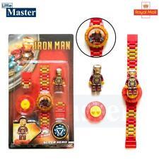 Kids Boys Girls Childrens Iron Man Watch - Digital Watch