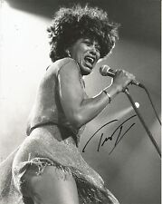 ROCK LEGEND TINA TURNER SIGNED 8X10 PROUD MARY PRIVATE DANCER ACID QUEEN MAD MAX