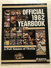 1982 PITTSBURGH PIRATES Yearbook WILLIE STARGELL Tanner Bill MADLOCK Dave PARKER