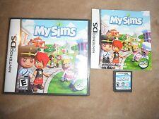 MySims (Nintendo DS) Lite Dsi xl 2ds 3ds xl My Sims COMPLETE