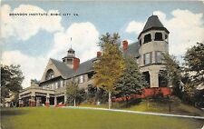 A76/ Basic City Virginia Va Postcard c1910 Brandon Institute Building 2