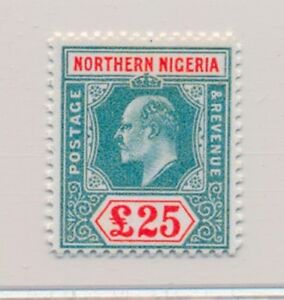 ***REPLICA*** of Northern Nigeria, 1904, £25 Grn & Car, Sc 18A