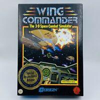 "Vntg WING COMMANDER 1990 Origin Big Box Game IBM-PC 3.5"" Floppy NEW OPEN BOX CIB"