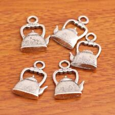 20 Piece 22*14mm 3D Teapot Charms Tibetan Silver Jewelry Making Necklace 8003A