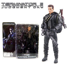 Terminator 2 Judgment Day T-800 Cyberdyne Showdown NECA PVC Action Figures Toy