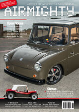 AIRMIGHTY MEGASCENE AIR COOLED VW LIFESTYLE MAGAZINE ISSUE #36 FRIDOLIN BEETLE