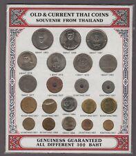 Old & Current Thai Coins Souvenir From Thailand 300 Baht