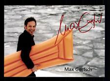 Max Gertsch Autogrammkarte Original Signiert # BC 61584