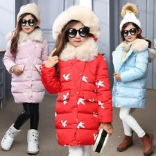 Girls Down Parkas Jacket Winter Jacket Girl Fashion Children Down Coat For Girl