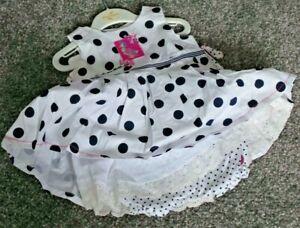 Girls Peter Rabbit Sleeveless Dress with Pants BNWT 3 Months