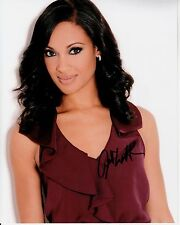 CYNTHIA ADDAI-ROBINSON hand-signed BEAUTIFUL 8x10 COLOR PORTRAIT w/ uacc rd COA