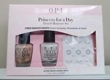 OPI Princess for a Day French Manicure Set - NL L00 & NL S86, 0.5 oz each