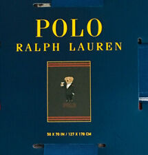 Polo Ralph Lauren Martini Bear Throw Blanket 50 x 70