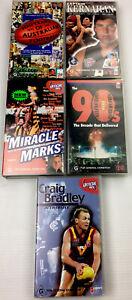 AFL Football Bundle VHS Video Cassette Tape PAL G