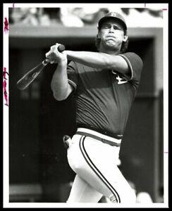 1986 St. Louis Cardinals TOM HERR Batting Original Photo Type 1