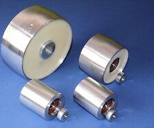 """Belt Grinder wheel set knife grinder 5"""" Drive-19 mm shaft, 3"""" tracking, 2"""" Idler"""