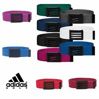 """NEW 2017"" Adidas Belt 3-Stripes Mens Funky Golf Webbing Belt SPORT One Size"