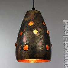 Pendel Lampe Raak Nanny Still McKinney Glas Kupfer Niederlande um 1960 #5/6