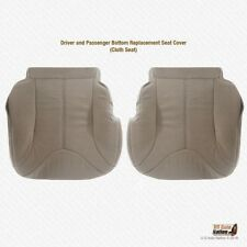 2000 2001 2002 GMC Yukon XL 2500 DRIVER & PASSENGER Bottom Cloth Seat Cover Tan