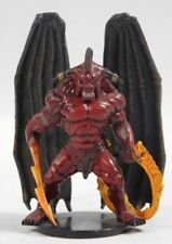 D&D Miniature  -  BALOR  #41 Demon Prince!! (Underdark - RARE with BOTH CARDS!!)