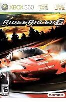 Ridge Racer 6 Xbox 360 Game  Kids Car Racing VI