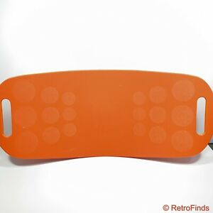 Simply Fit Board The Workout Balance Board with a Twist, As Seen on TV - Orange