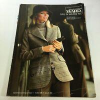 VTG Montgomery Ward Catalog: Fall Winter 1977 - Retro Fashion Tips / No Label