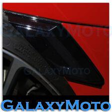 Scion FR-S Subaru BRZ White+Amber LED Smoke Lens+Black Side Marker Blinker Light