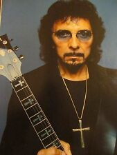 Tony Iommi, Black Sabbath, Full Page Pinup