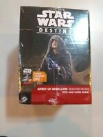 Star Wars Destiny Spirit Of Rebellion Booster Pack Dice And Card Game