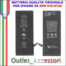 Batteria Pila Interna Apple Iphone 5S 616-0722 Originale A1453 A1457 A1518 A1530