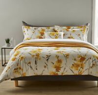 Christy Ink Flower Double Size Duvet Set