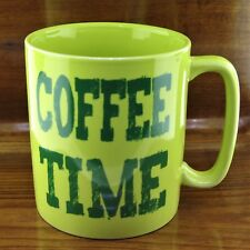 New Old Pottery Company ULTIMATE Coffee Time Coffee Mug Holds a Whopping 26 oz