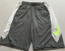 Nike Men'S Hyperspeed Knit Training Shorts 684821 Grey/White/Yellow Size S