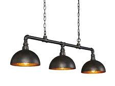 LEAH Hängelampe Hängeleuchte Metallgestell Industrial Design mit 3 E27 Fassungen